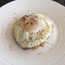 mash and egg