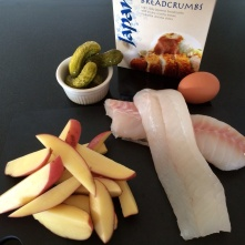 Fish and chip ingredients