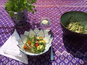 Thai spiced salad