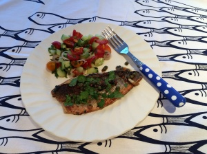 Moroccan style fish