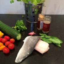 Chermoula fish ingredients
