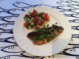 Chermoula style fish