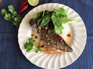Seabream Thai style