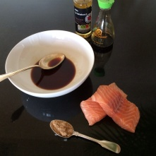 Mirin salmon ingredients