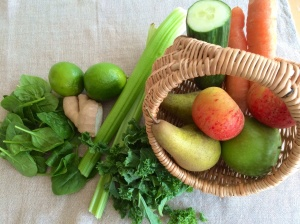 Fresh fruit and veg